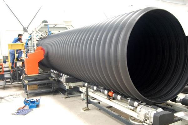 DN1000钢带增强聚乙烯螺旋波纹管产品图片