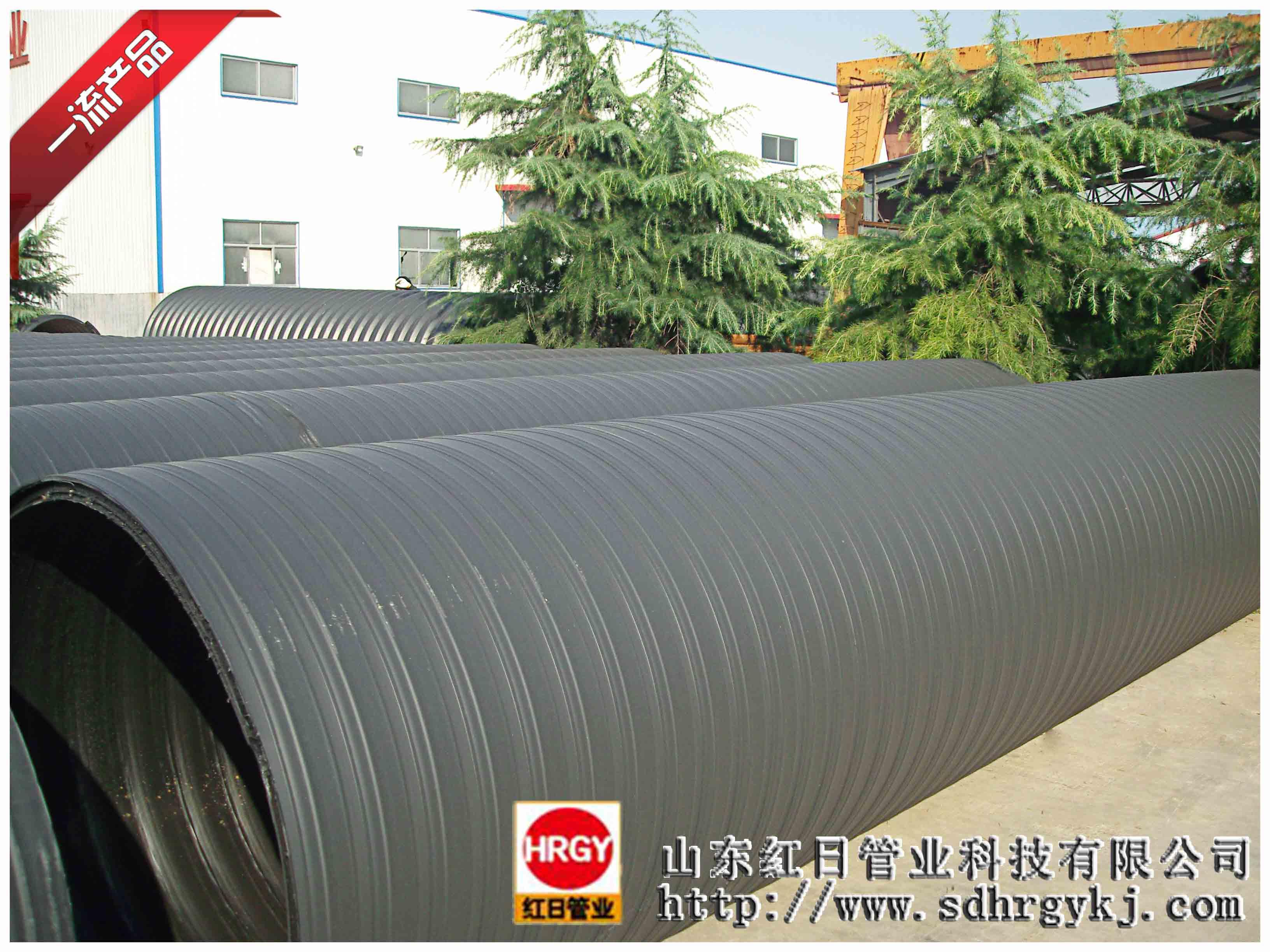双平壁钢塑复合排水管